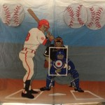 Baseball Catcher Backdrop