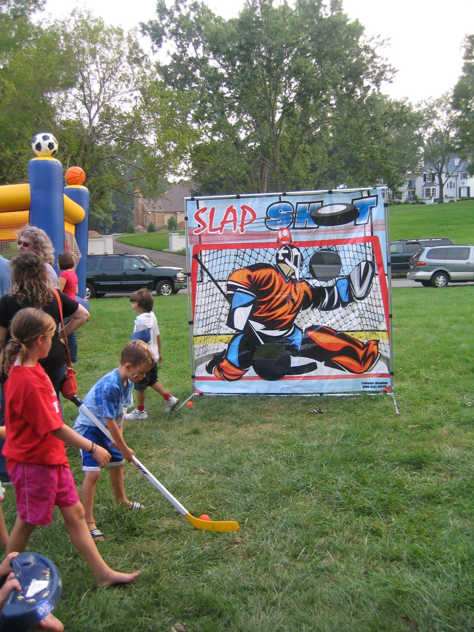games hockey lawn carnival frame game slap shot adult golf baltimoresbest