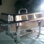 Chafing Dish Rectangular 9qt 21in x 13in
