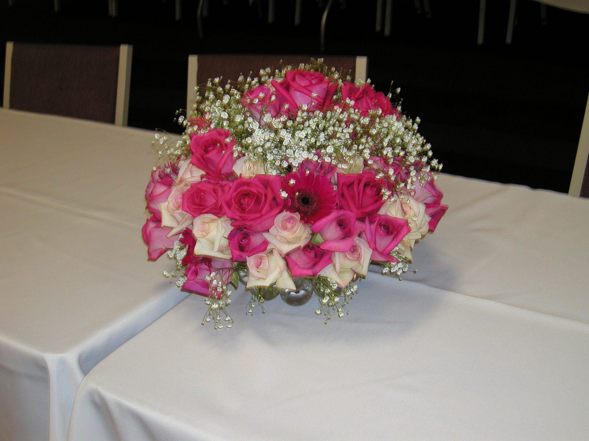 Floral centerpieces party favors ideas