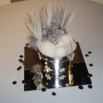 Winter Wonderland bucket silver mirrortile