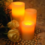 Flameless Pillar Candles