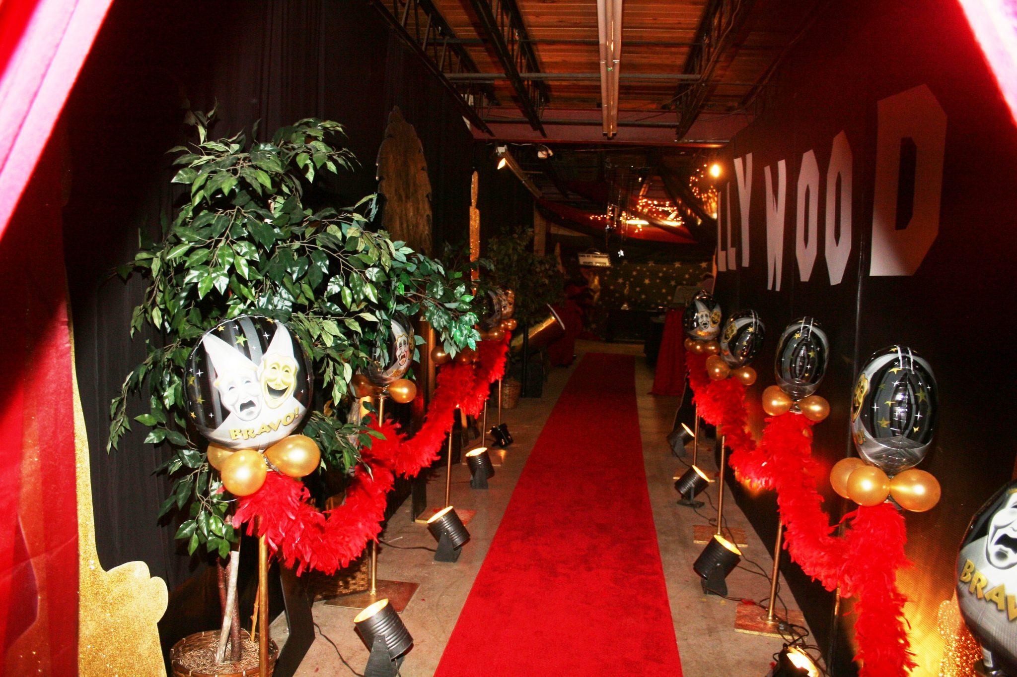 Oscars Red Carpet Backdrop