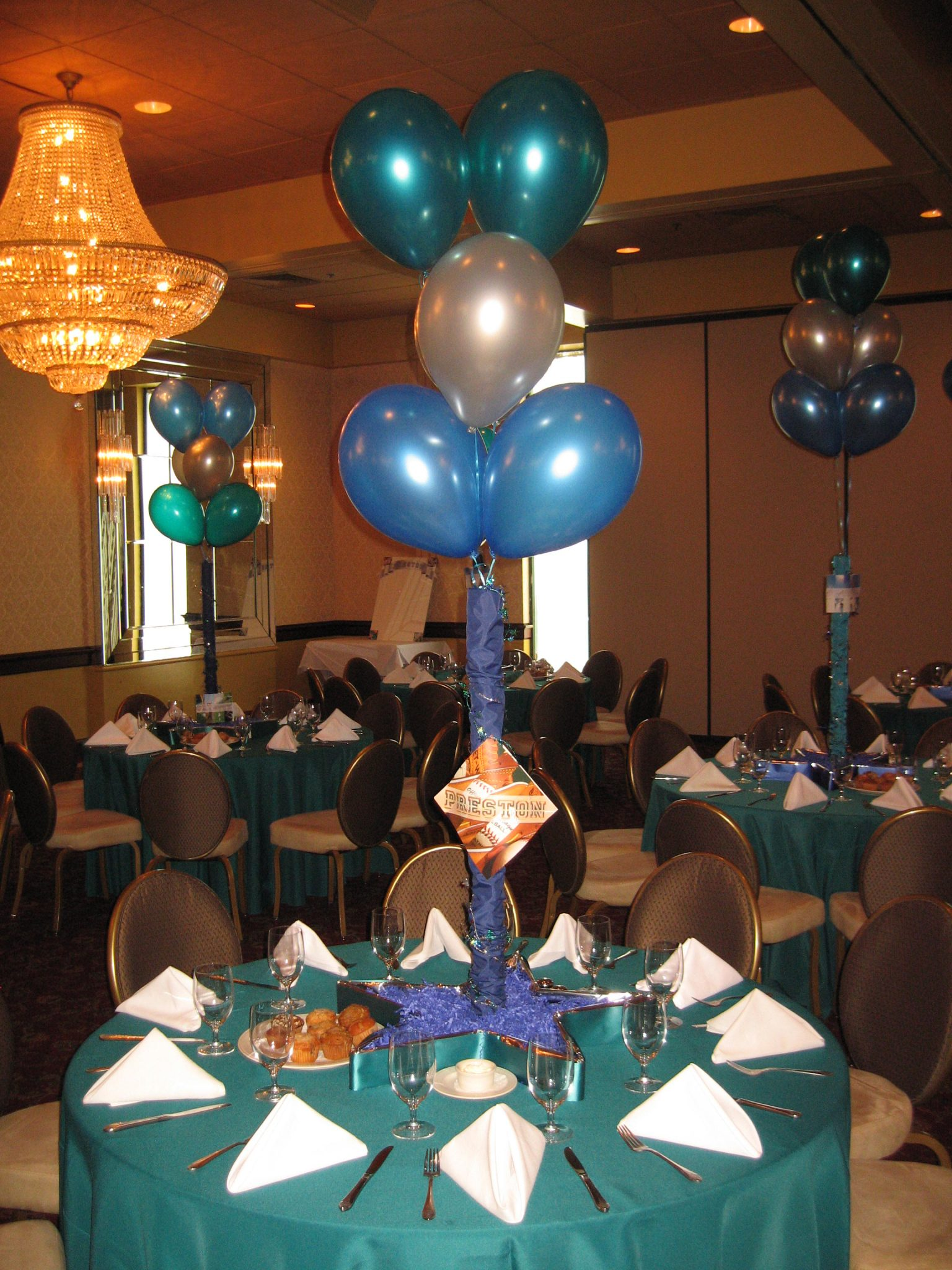 Sports Themed Balloon Decor Sports Baltimores Best Events