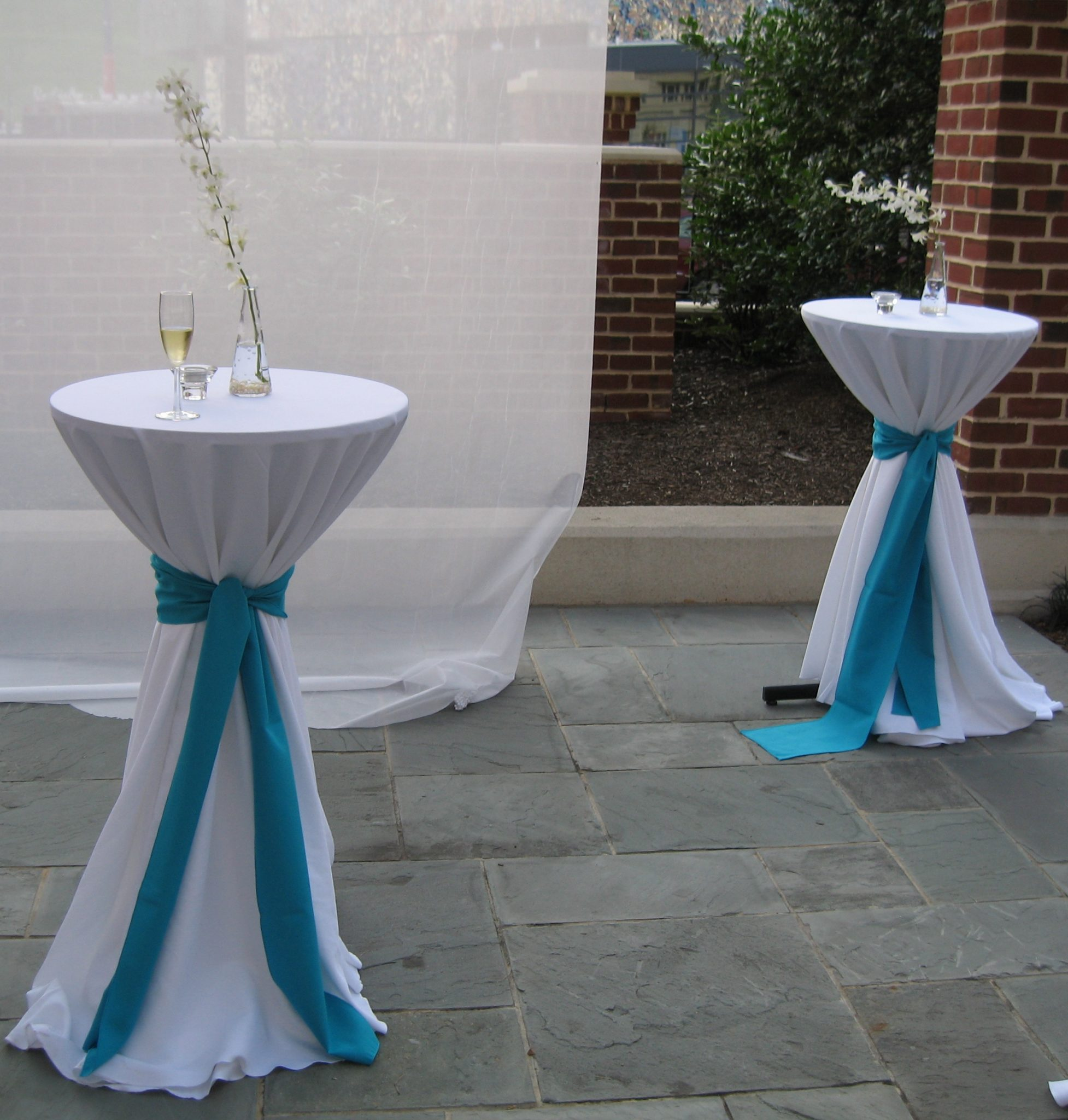 Wedding rentals services baltimore 39 s best events for Cocktail tables diy