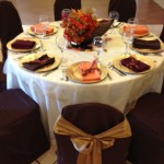 Chair covers chocolate (1)
