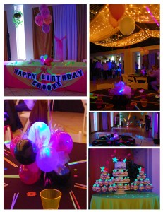 Black Light Sweet 16