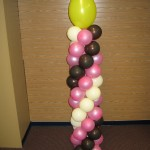 Candle Column 6'tall