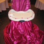 Chair High Chair Princess Throne