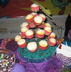 Cupcake 4 tier stand