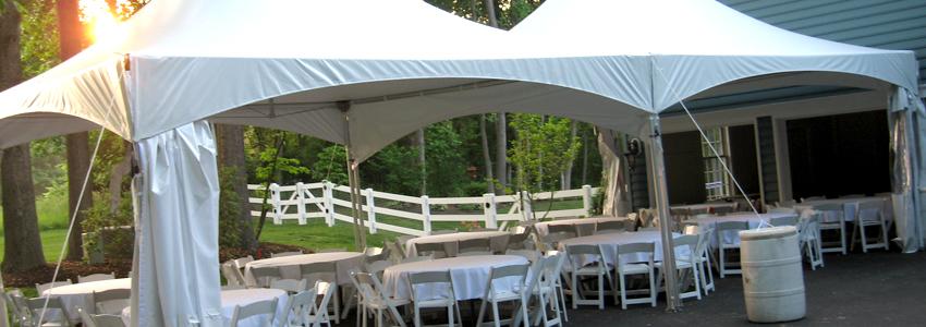 Outdoor Rentals Baltimores Best Events - Outdoor table tent