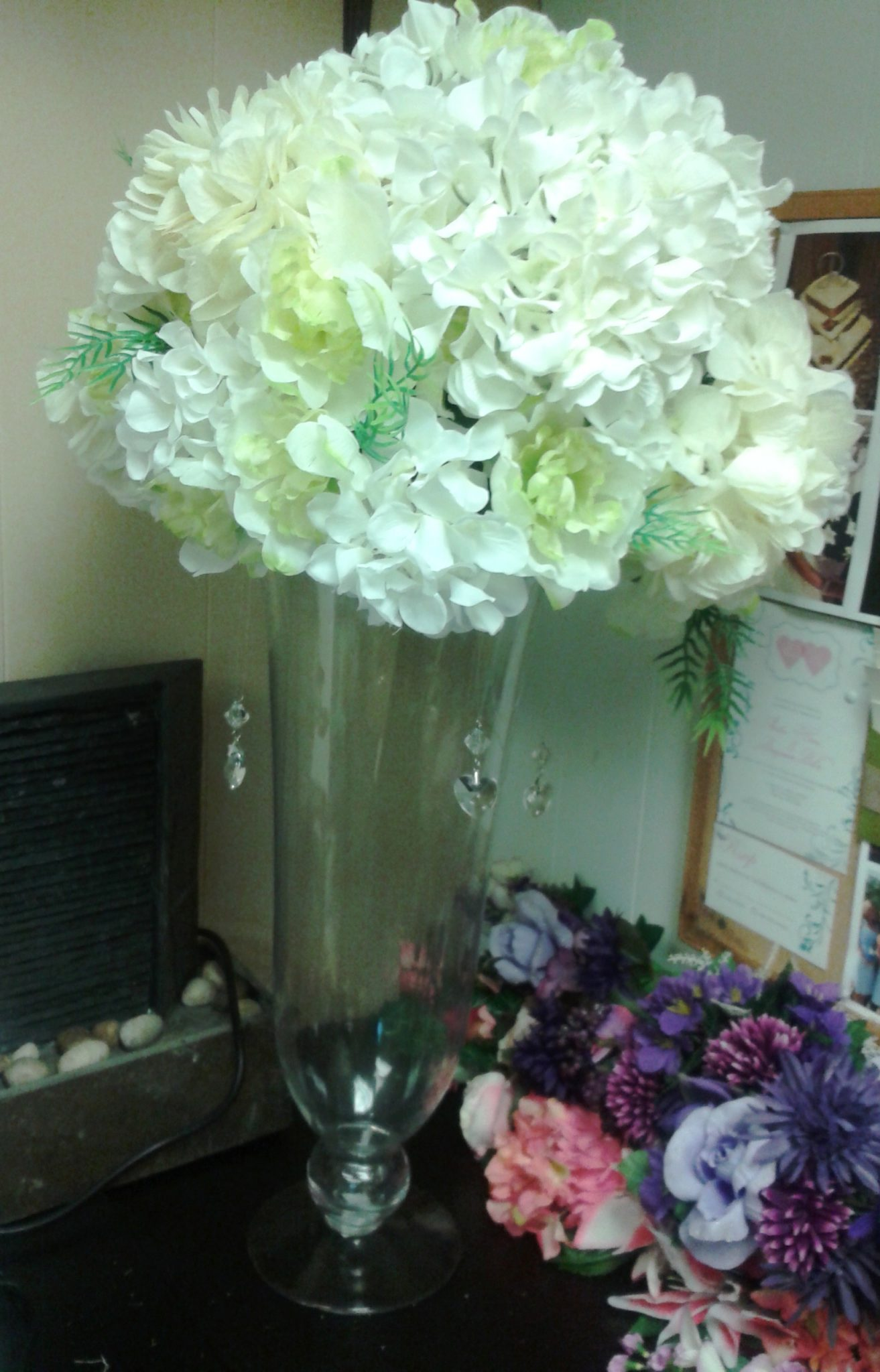 Hydrangea Vase Centerpiece : Centerpieces baltimore s best events
