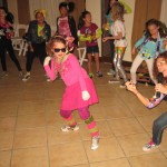 80's retro dance game coordinator Elle party 110611 (6)