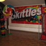 Candy Good & Plenty Mike and Ike Skittles Runts Reeses Cup banner backdrop (2)