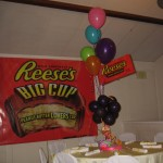 Candy Good & Plenty Mike and Ike Skittles Runts Reeses Cup banner backdrop (4)