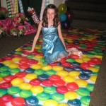 Candy Skittles Runner Candy Couture pixie sticks
