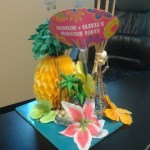 Centerpiece- Custom Tropical