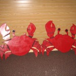 Crabs (2) 32inch