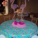 Flamingo Table linen CP