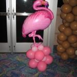 Flamingo foil Luau I