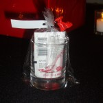 Party Favor Glass Imprinted