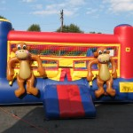 Safari Jungle Animal Moonbounce
