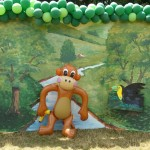 Safari Jungle Monkey Inflatable Backdrop Around the World South America