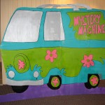 Scooby Doo Mystery Machine Backdrop848