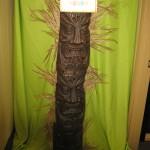 Totem Pole Tiki Luau tropical