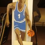Backdrop - Sports - Basketball Dribbler