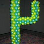 Tex Mex Cactus balloon