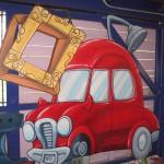 Transportation Car Picture frame
