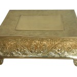 """Gold Cake Stand 16"""" $40"""