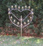 Candelabra Heart Shape 5ft tall