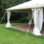 Canopy Tent w sides 20x40