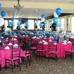 Music note arch columns balloon centerpieces (1)