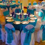 Turquoise Malibu Caribbean Blue