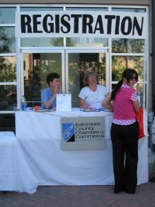 Registration Booths (2) 72 x 108