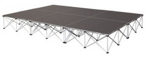 Stage Platform 4' x 4' sections