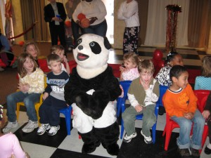 Panda Bear Rock Star