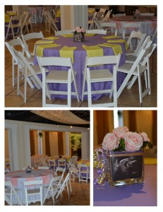 Baby Shower Purple Pink Yellow