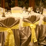 silver chair cover yellow sash2