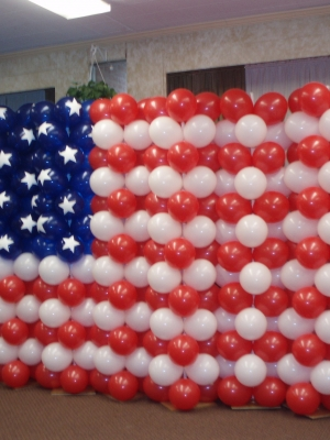 Patriotic American Flag 04