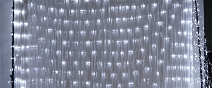Curtain Backdrop lights