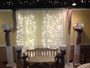 Curtain lighting sheers loft